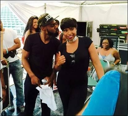 Mali Music and Jennifer Hudson 2015