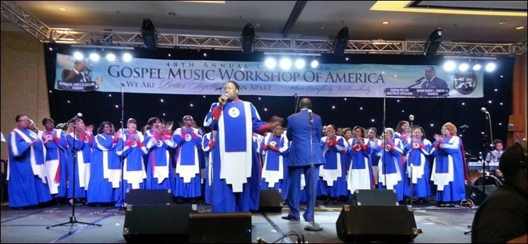 Mississippi Mass Choir 2015  GMWA