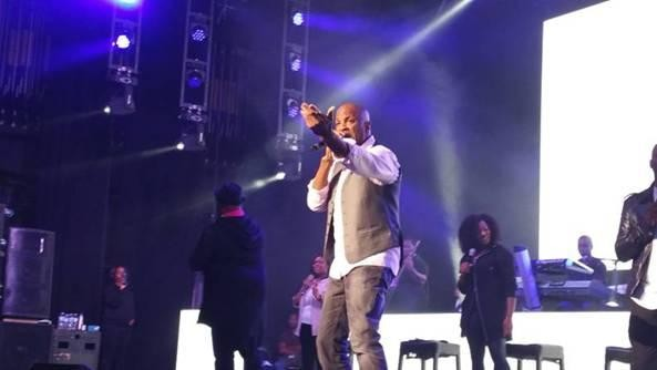 Donnie McClurkin On Stage 2015