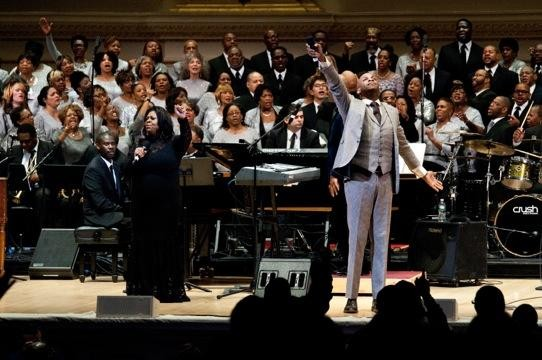 Donnie McClurkin at Carnegie Hall