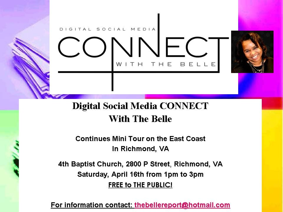 Digital Social Media Presentation - April 16, 2016