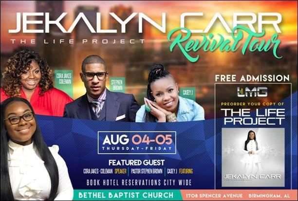Jekalyn Carr Revival 2016